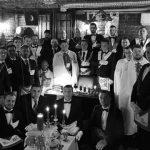 Ritual Cina Cea de Taina poza de grup alb negru